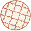Safavieh Amherst Beige/Orange Indoor/Outdoor Area Rug