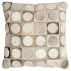 Safavieh Brigittecowhide SuedeThrow Pillow (Set of 2)
