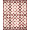 Safavieh Cambridge Ivory / Rust Area Rug