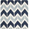 Safavieh Chatham Dark Blue / Light Blue Area Rug