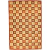 Safavieh Soho Maze Ivory / Rust Contemporary Rug
