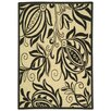 Safavieh Courtyard Sand/Black Indoor Area Rug