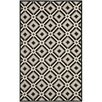 Safavieh Four Seasons Black/Grey Outdoor Area Rug