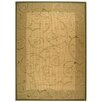 Safavieh Courtyard Natural/Olive Outdoor Rug