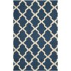 Safavieh Cambridge Lattice Navy Blue/Ivory Area Rug
