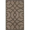 Safavieh Martha Stewart Fretwork Tufted / Hand Loomed Brown Area Rug