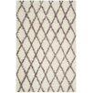 Safavieh Kenya Hand-Tufted Ivory/Gray Area Rug