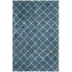 Safavieh Kenya Hand-Woven Light Blue/Ivory Area Rug
