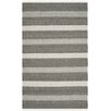 Safavieh Kilim Hand-Woven Gray/Black Area Rug