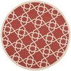 Safavieh Courtyard Red/Beige Indoor/Outdoor Rug