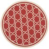 Safavieh Courtyard Red/Bone Indoor/Outdoor Rug