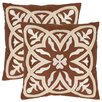 Safavieh Gage Throw Pillow (Set of 2)