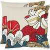 Safavieh Jett Cotton Throw Pillow (Set of 2)