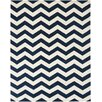 Safavieh Chatham Dark Blue / Ivory Chevron Area Rug