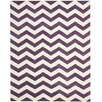 Safavieh Chatham Purple / Ivory Chevron Area Rug
