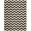 Safavieh Courtyard Black & Beige Outdoor/Indoor Area Rug