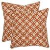 Safavieh Alice Cotton Throw Pillow (Set of 2)