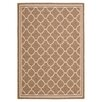 Safavieh Courtyard Brown & Bone Outdoor Area Rug