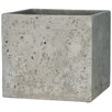 Barber Cement Planter Box - Size: 9 inch High x 10 inch Wide x 10 inch Deep - Trent Austin Design Planters