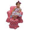 Fun Furnishings Paula Kids Club Chair and Ottoman