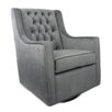Fun Furnishings Tres Chic Velvet Glider