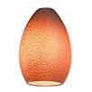 "Access Lighting 4"" Safari Glass Oval Pendant Shade"
