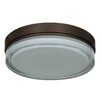 Access Lighting Solid 3 Light Flush Mount
