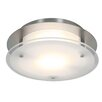 Access Lighting VisionRound 1 Light Outdoor Flush Mount