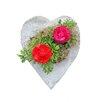 Sierra Artisan Pumice Heart Statue Planter - Size: Large (16-18 inch) - Featherock Inc Planters