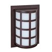 Besa Lighting Scala 1 Light Outdoor Bulkhead Light
