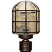 Besa Lighting Costaluz 1 Light Post Mount Lantern