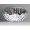 Besa Lighting Pinta 3 Light Outdoor Flush Mount