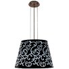 Besa Lighting Amelia 3 Light Drum Pendent