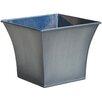 Zinc Pot Planter - Color: Grey Titan - Craftware Planters