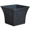 Zinc Pot Planter - Color: Lead - Craftware Planters