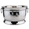 Old Dutch International 17 Qt. Stainless SteelDouble Walled Party Tub with Tie Knot