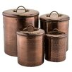 Old Dutch International 4-Piece Canister Set