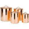 Old Dutch International Old Dutch 4 Piece Canister Set