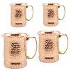Old Dutch International 17 oz. Moscow Mule Mug (Set of 4)