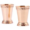 Old Dutch International 12 Oz. Plated Mint Julep Cup (Set of 2)