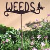 Weeds Garden Stake - Z Garden Party Garden Statues and Outdoor Accents