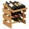 Wooden Mallet Dakota 9 Bottle Tabletop Wine Rack