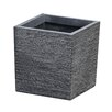 Square Fiberclay Pot Planter - Size: 10 inch High x 9.8 inch Wide x 9.8 inch Deep - Winsome House Planters