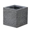 Square Fiberclay Pot Planter - Size: 12 inch High x 11.8 inch Wide x 11.8 inch Deep - Winsome House Planters