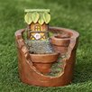 Treehouse Planter Miniature Fairy Garden - Winsome House Garden Statues and Outdoor Accents