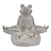 Meditating Frog Statue - Three Hands Co. Garden Statues and Outdoor Accents