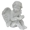 Reading Angel Statue - Three Hands Co. Garden Statues and Outdoor Accents