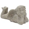 Angel Statue - Color: Gray - Three Hands Co. Garden Statues and Outdoor Accents