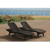 Keter Kirk All Weather Outdoor Chaise Lounge (Set of 2)