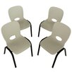 Lifetime Armless Contemporary Childrens Stacking Chair (Set of 4)